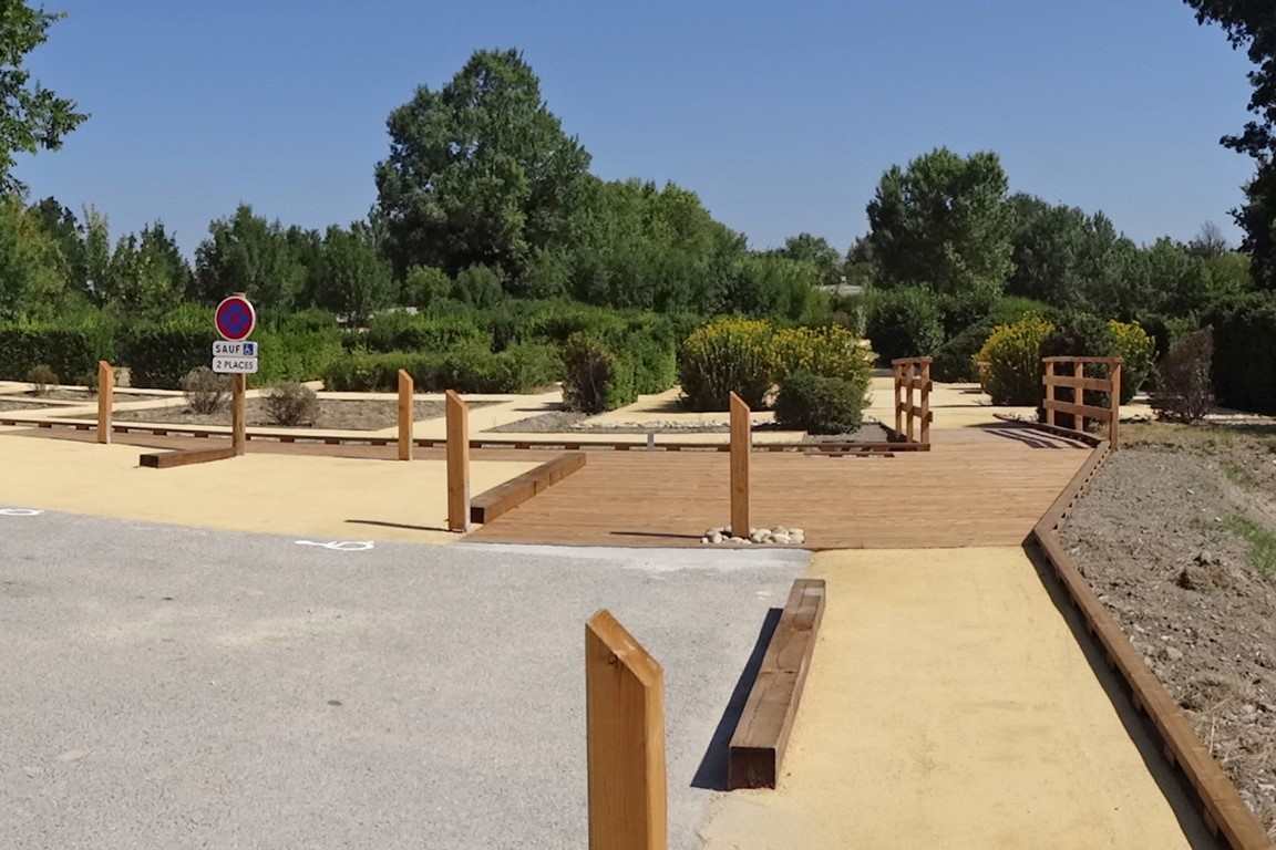 ARBORETUM DE JONQUIÈRES – Cheminement accessible